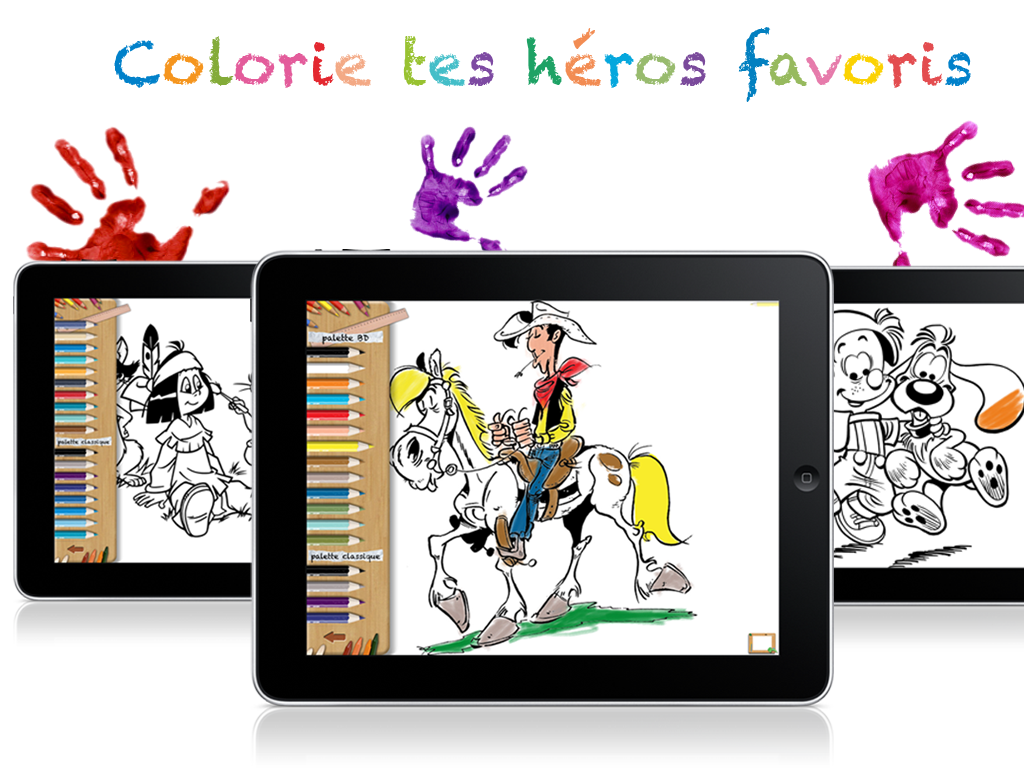 Capture_mallette_a_dessin_ipad_drawing_kit_Lucky_Luke_Yakari_Boule_et_Bill